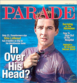 Shia Labeouf Parade Magazine